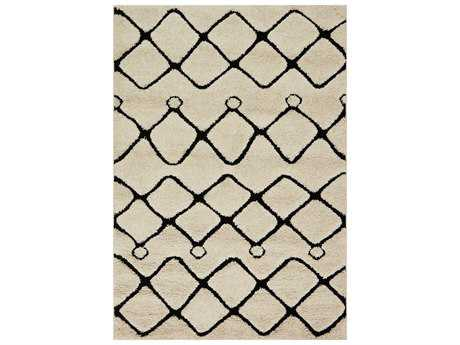 Loloi Rugs Enchant EN-25 Ivory / Black Area Rug