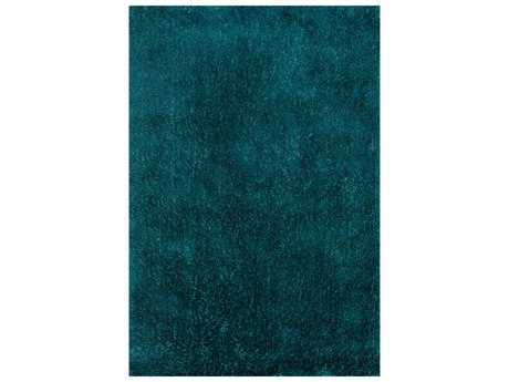 Loloi Rugs Fresco Shag FG-01 Rectangular Peacock Area Rug