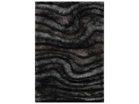 Loloi Rugs Glamour Shag GS-05 Rectangular Midnight Area Rug
