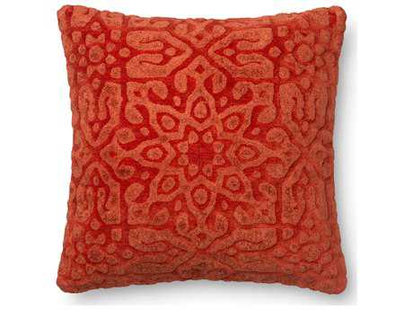 Loloi Rugs 22 Square Chili Pillow (Sold in 4)