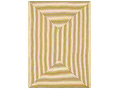 Loloi Rugs In-Out IO-01 Rectangular Yellow Area Rug