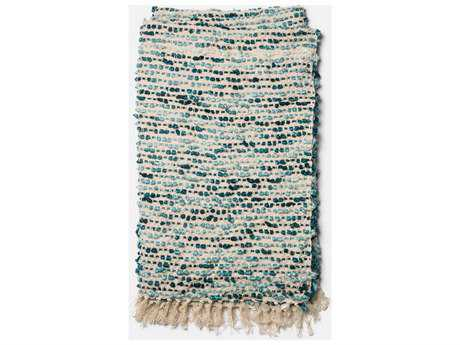Loloi Rugs Lily 4'2'' x 5' Blue / Ivory Throw