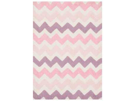 Loloi Rugs Lola Shag LL-03 Pink / Purple Area Rug