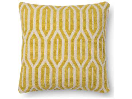 Loloi Rugs 18 Square Citron Pillow (Sold in 4)