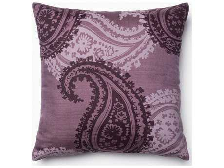 Loloi Rugs 18'' Square Purple Pillow (Sold in 4)