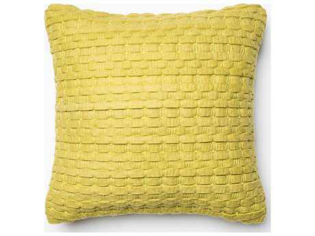Loloi Rugs 22'' Square Lime Pillow (Sold in 4)
