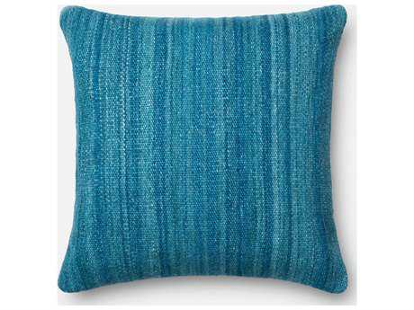 Loloi Rugs 22'' Square Blue Pillow (Sold in 4)