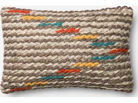 Loloi Rugs 13'' x 21'' Rectangular Multi Pillow (Sold in 4)