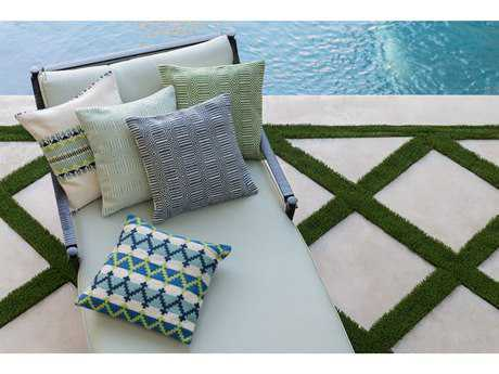 Loloi Rugs 22'' Square Green Pillow (Sold in 4)