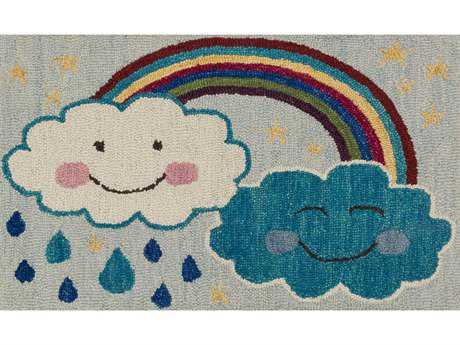 Loloi Rugs Skylar HSK12 2'3'' x 3'9'' Rectangular Rainbow Area Rug
