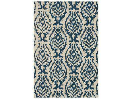 Loloi Rugs Summerton SRS13 Rectangular Ivory / Denim Area Rug
