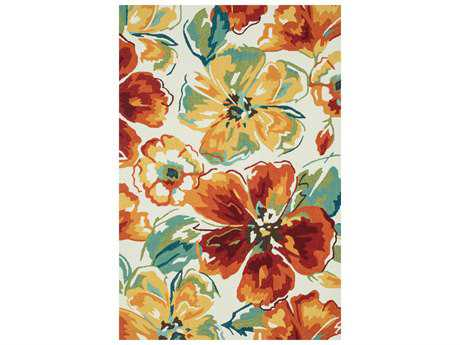 Loloi Rugs Summerton SRS18 Ivory / Floral Area Rug