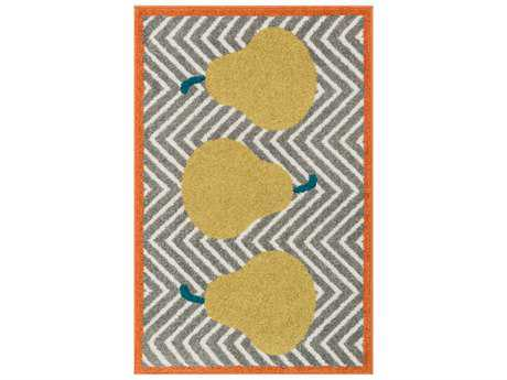 Loloi Rugs Tilley HTI02 Grey / Green Area Rug