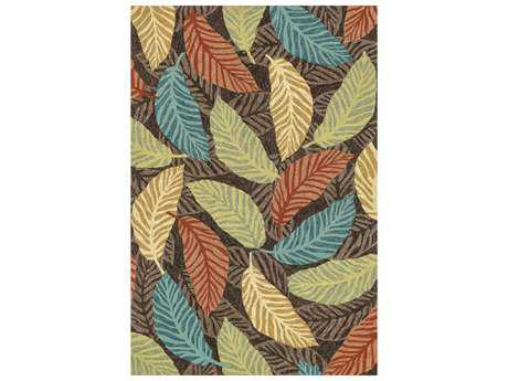 Loloi Rugs Tropez TZ-02 Brown / Multi Area Rug