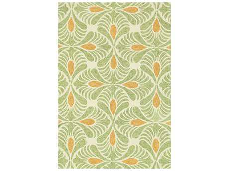 Loloi Rugs Tropez TZ-03 Ivory / Green Area Rug