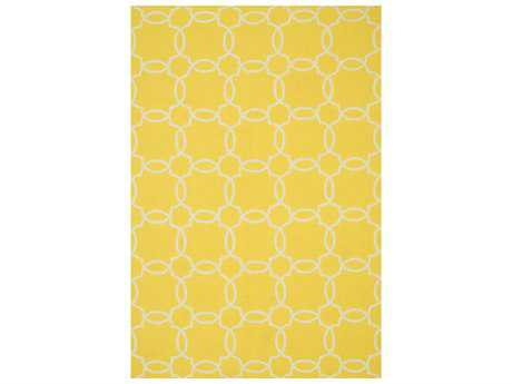 Loloi Rugs Ventura HVT08 Rectangular Yellow / Ivory Area Rug