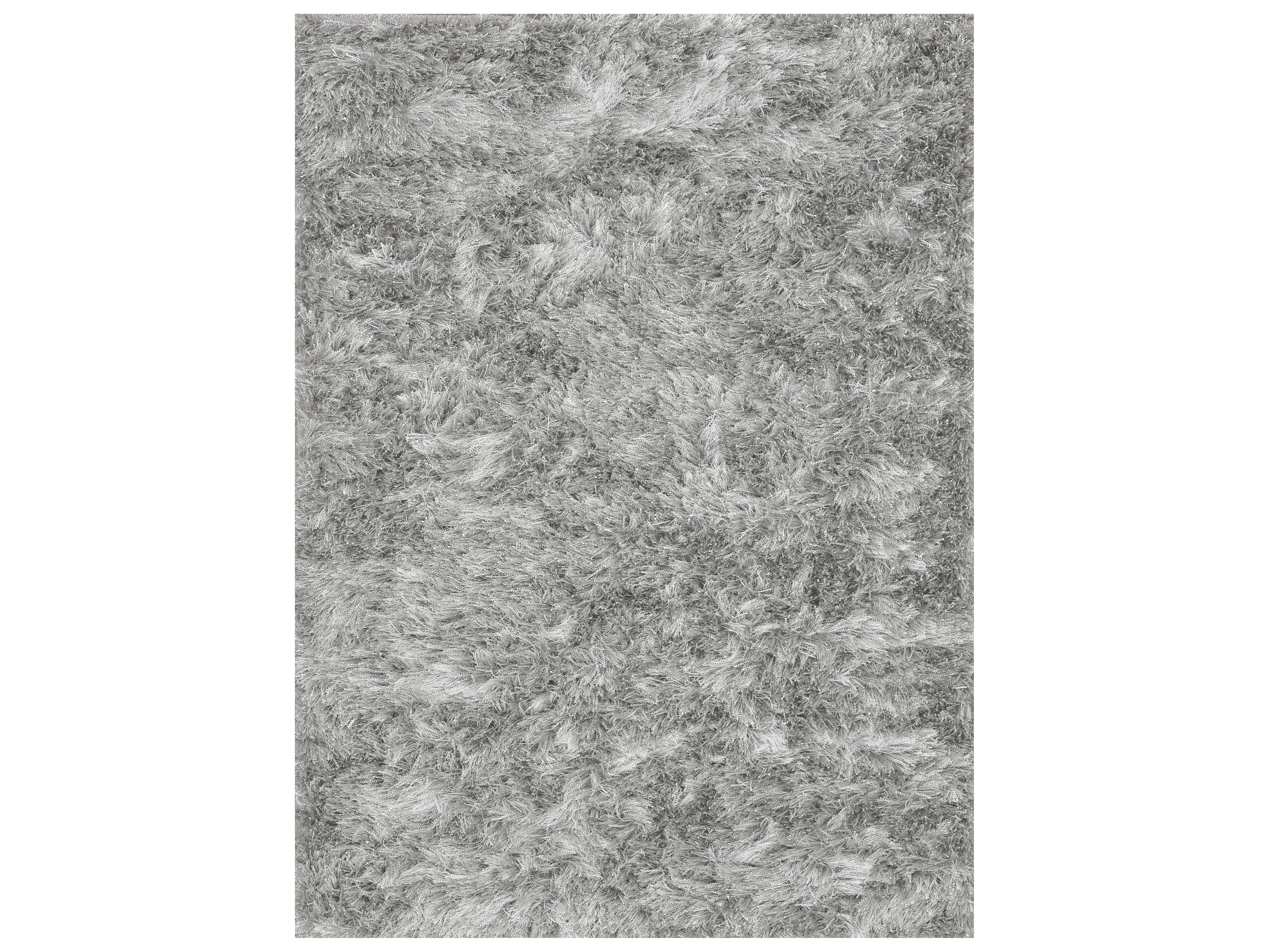 Loloi rugs vida shag vs 01 rectangular silver area rug for Accent rug vs area rug