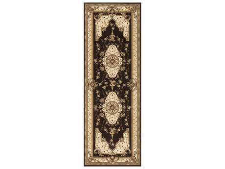 Loloi Rugs Welbourne WL-01 2'8'' X 7'7'' Coffee / Ivory Runner Rug
