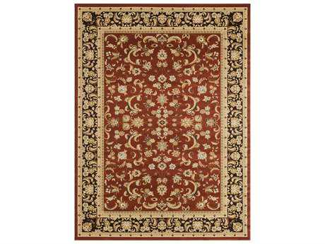 Loloi Rugs Welbourne WL-03 Rectangular Paprika / Coffee Area Rug