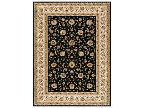 Loloi Rugs Welbourne WL-05 Rectangular Black / Ivory Area Rug