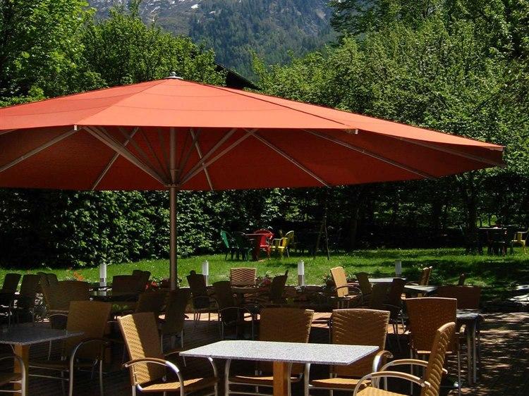 Luxury Umbrellas May Albatros Round Customizable Umbrella PatioLiving