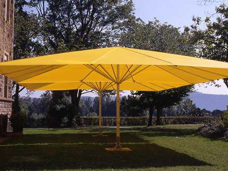 Luxury Umbrellas May Albatros Square Customizable Umbrella