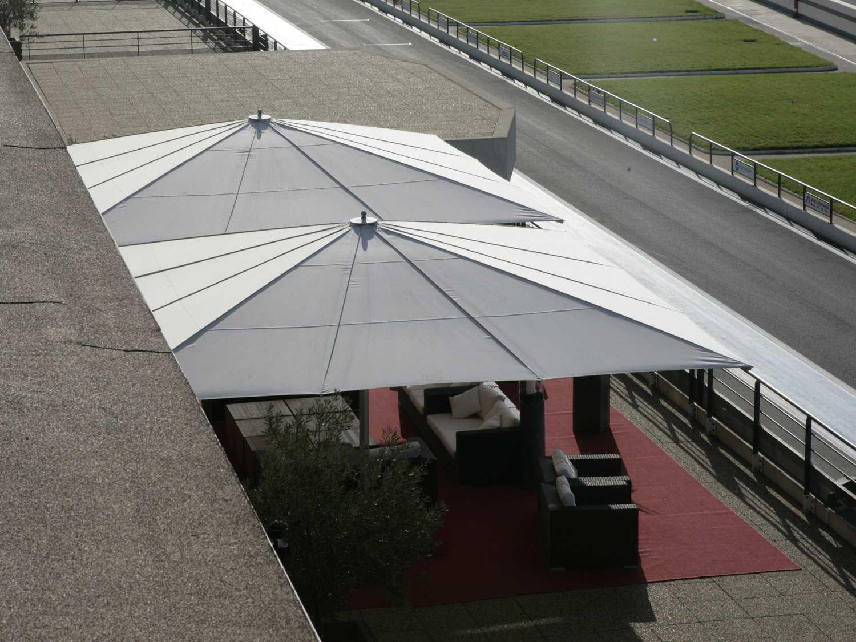 Luxury Umbrellas May Albatros Square Customizable Umbrella