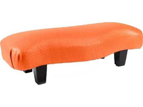 Loni M Designs Curved Saffron Bench