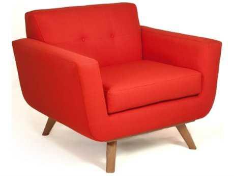 Loni M Designs Atomic Saffron Accent Chair
