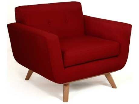 Loni M Designs Atomic Berry Accent Chair