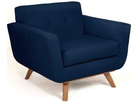 Loni M Designs Atomic Navy Accent Chair