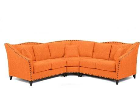 Loni M Designs Alexandria Saffron Sectional Sofa