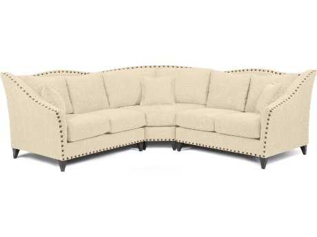 Loni M Designs Alexandria Cream Sectional Sofa