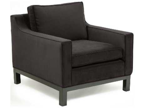 Loni M Designs Seymour Charcoal Accent Chair