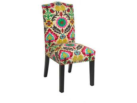 Loni M Designs Dana Desert Flower Dining Side Chair