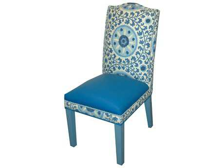 Loni M Designs Signature Blue & White Dining Side Chair