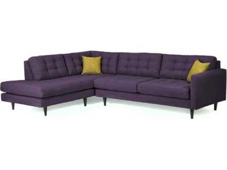 Loni M Designs Oliver Jellybean Sectional Sofa