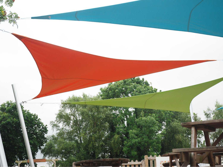 Luxury Umbrellas Ingenua 16 5 Triangular Anodized Aluminum