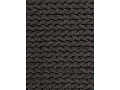 Ligne Pure Dream Rectangular Black Area Rug