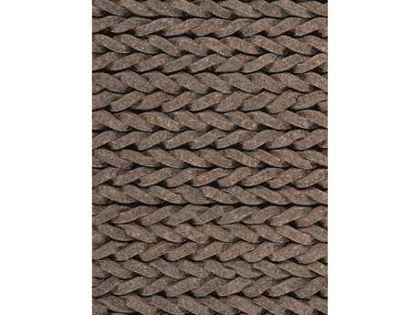 Ligne Pure Dream Rectangular Brown Area Rug