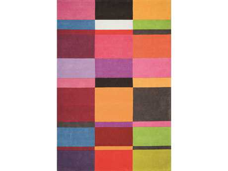 Ligne Pure Love Rectangular Pink Area Rug