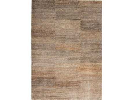 Ligne Pure Transform Rectangular Brown Area Rug