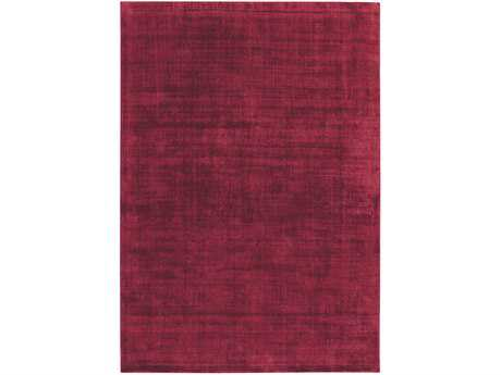 Ligne Pure Reflect Rectangular Red Area Rug