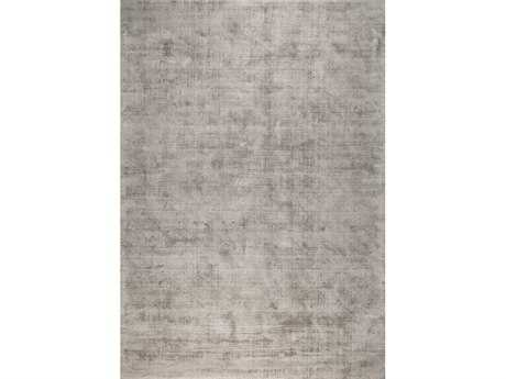 Ligne Pure Reflect Rectangular Gray Area Rug