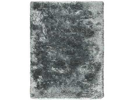 Ligne Pure Adore Rectangular Dark Gray Area Rug