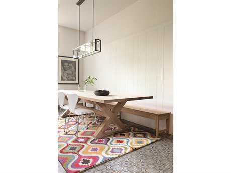 Ligne Pure Love Rectangular White Area Rug