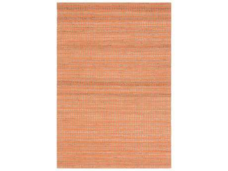 Ligne Pure Enjoy Orange & Beige Rectangular Area Rug