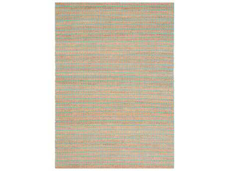 Ligne Pure Enjoy Blue & Beige Rectangular Area Rug