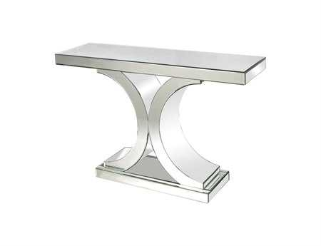 Dimond Home 46 x 13.25 Rectangular Mirrored Console Table