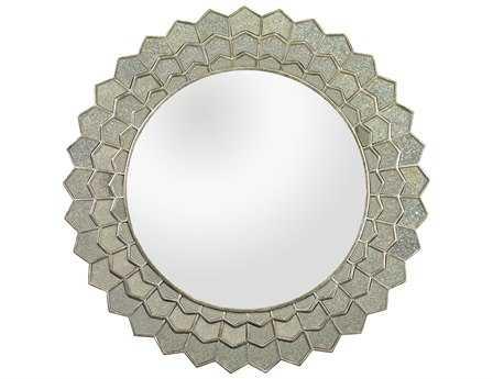 Dimond Home 16 Round Antique Sunflower Wall Mirror